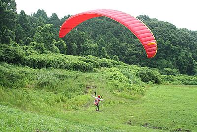 パラグライダー体験&タンデム満喫コース01