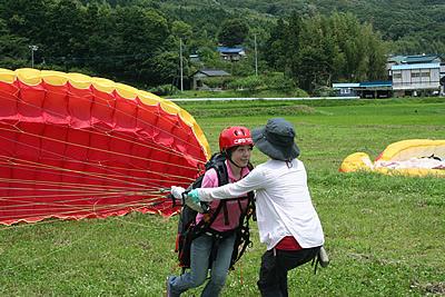パラグライダー体験&タンデム満喫コース02