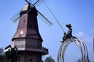 オランダ型風車03