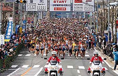 『かすみがうらマラソン』の画像