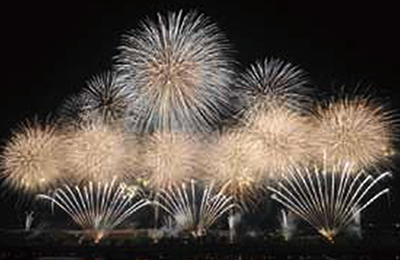 『土浦全国花火競技大会』の画像