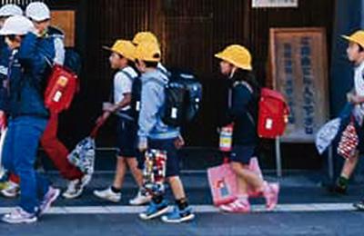 『入学祝品のランドセル』の画像