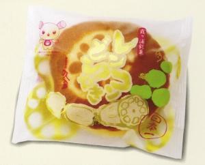 『レンコンどら焼き』の画像