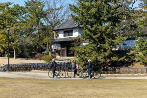 『亀城公園サイクリング』の画像